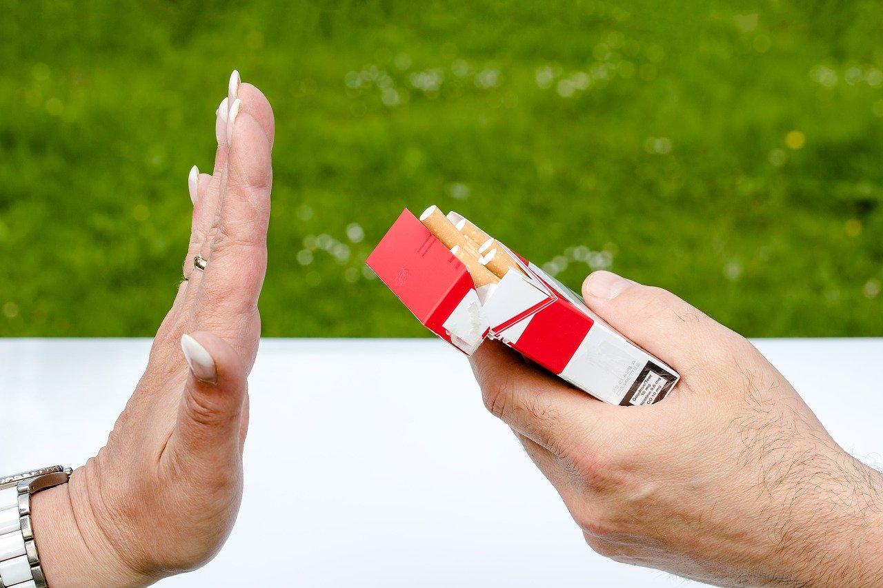 diga não ao tabagismo